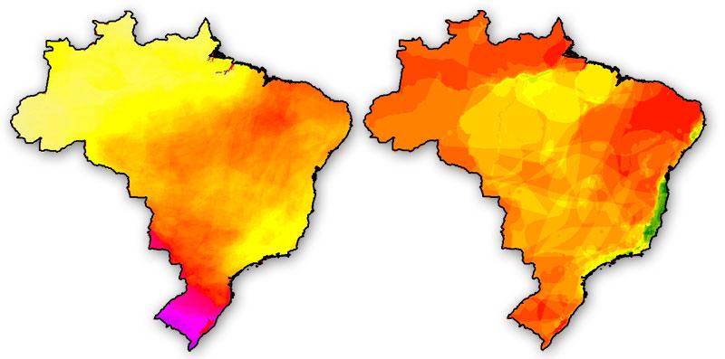 Cartografía de indices de biodiversidad