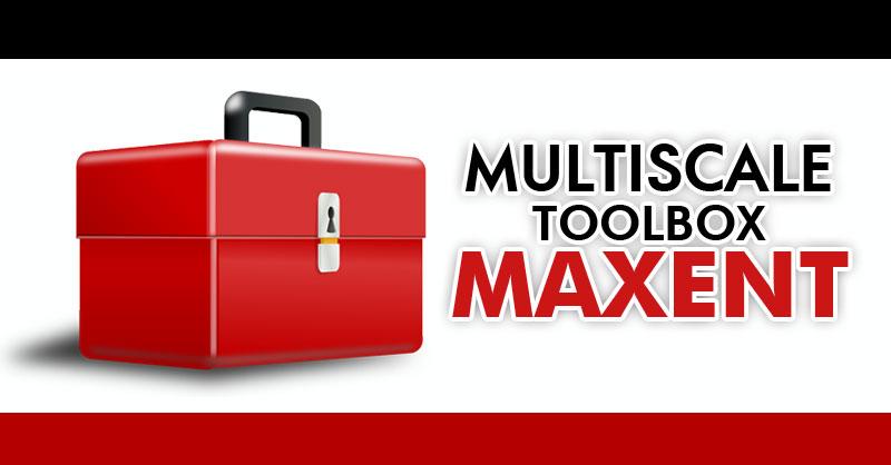 MultiScale toolbox creación de capas para MaxEnt
