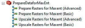 Preparación de archivos ASCII para MaxEnt