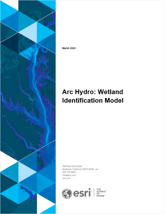 Libro de descarga Arc HYdro: Wetland Identification Model