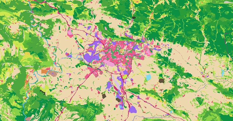 Descarga SIOSE: cartografía de usos del suelo