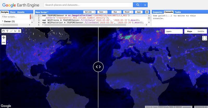 Cómo montar mapas de contaminación ante el Coronavirus