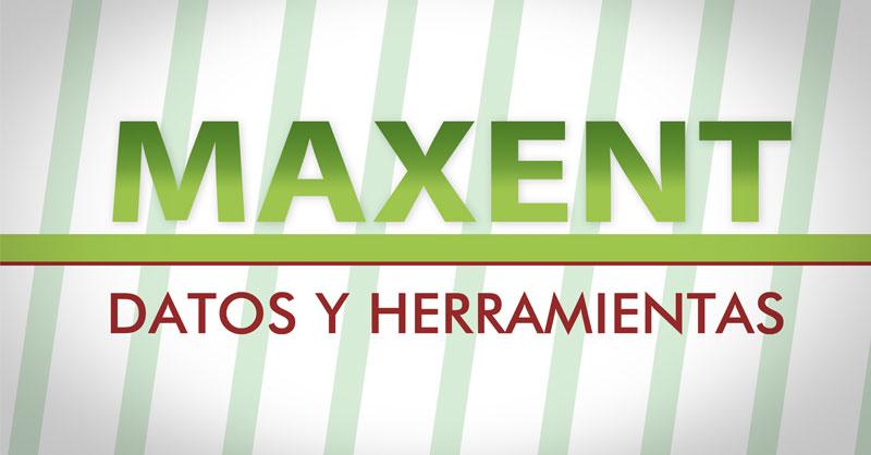 Herramientas para MaxEnt y datos de descarga