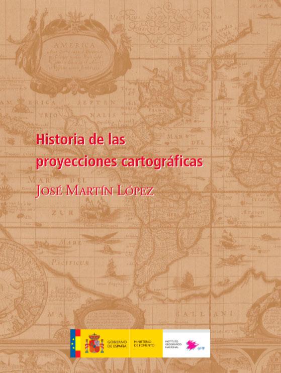 Libro Historia de las proyecciones cartográficas