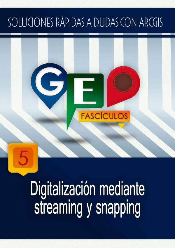 Manual PDF Digitalización en ArcGIS con Streaming y Snapping