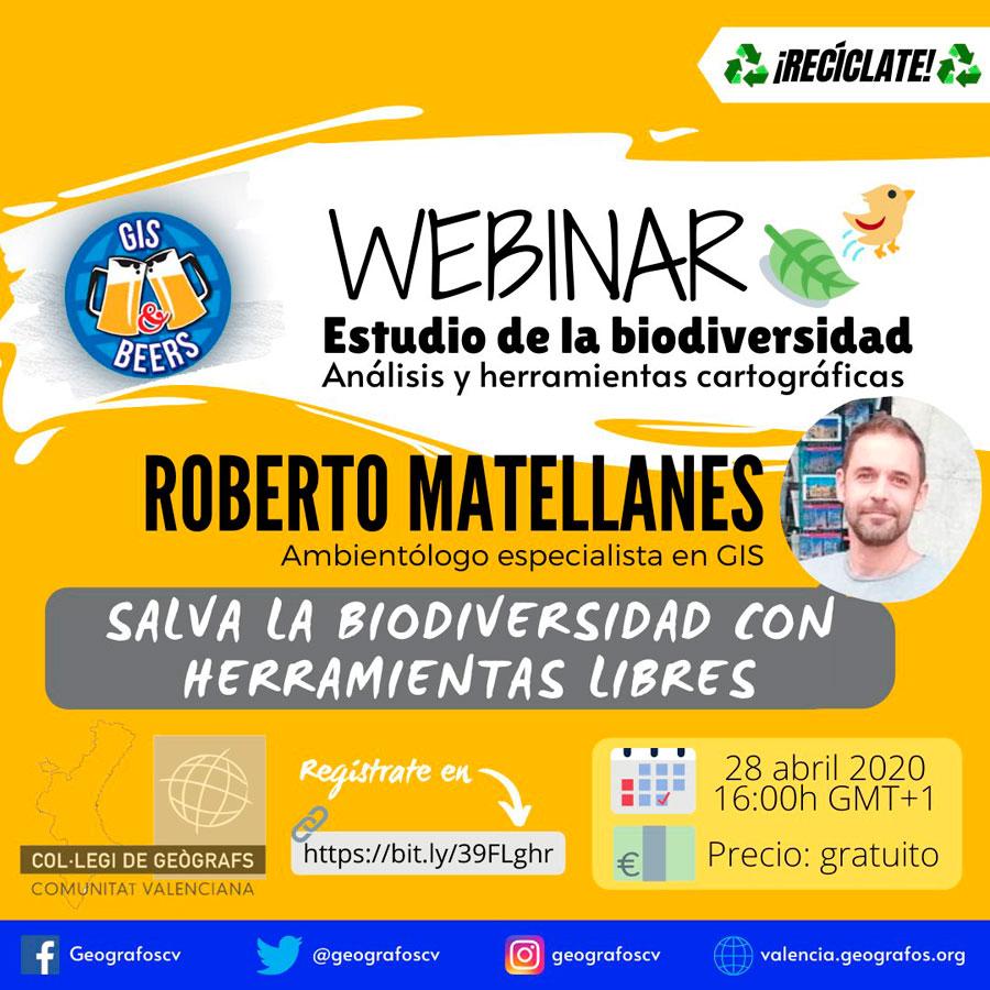 Webinar de análisis de biodiversidad con QGIS