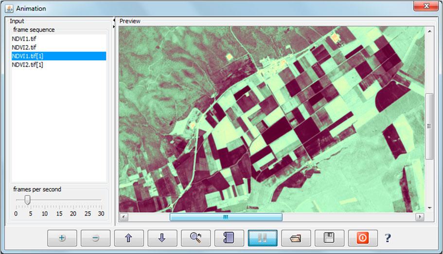 GIF animado de mapas