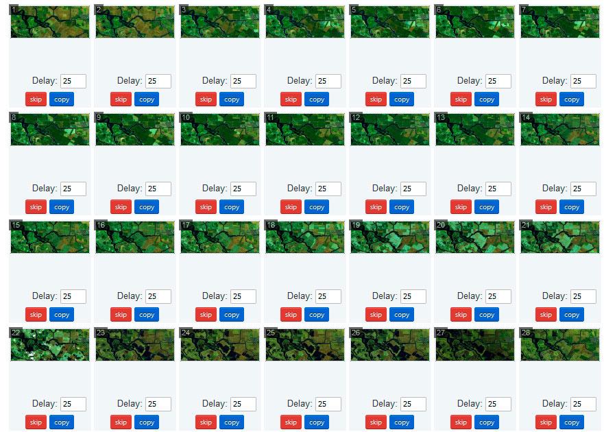 Animaciones de mapas en GIF
