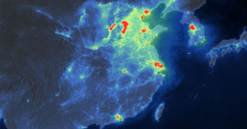 Webinar NASA: mapas de contaminación del aire