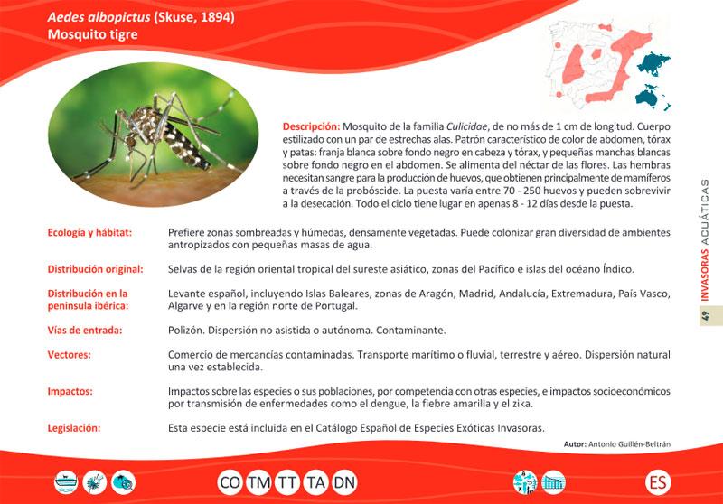 Distribución de Especies Exóticas Invasoras