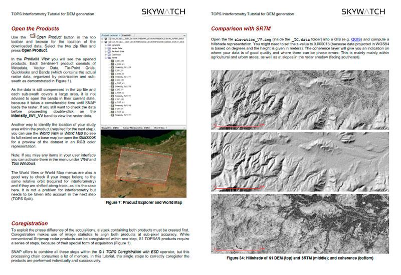 DEM Generation using Sentinel radar data