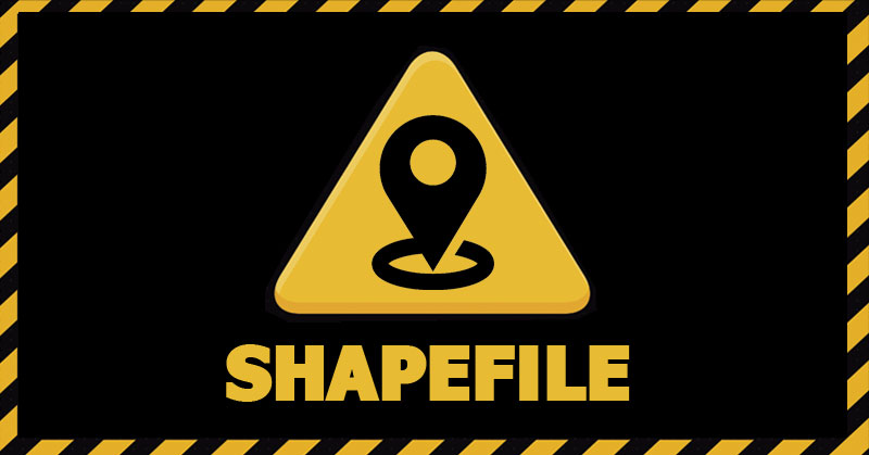 Inconvenientes del shapefile