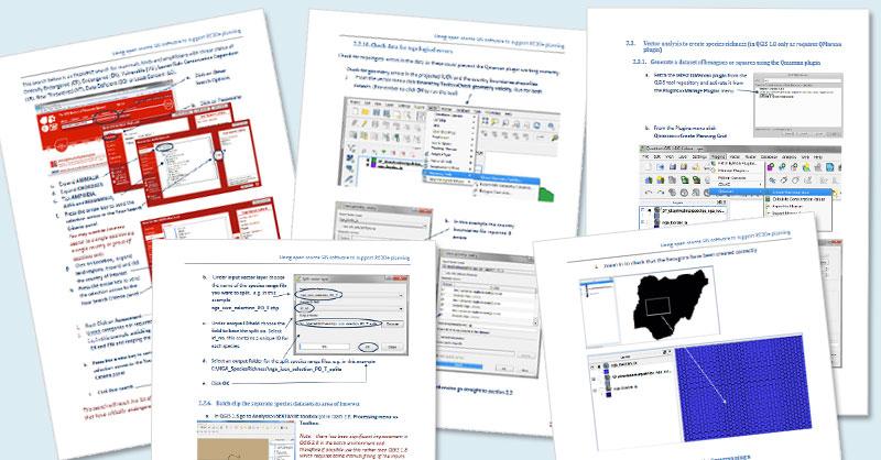 Manual para elaborar mapas de riqueza de especies en QGIS
