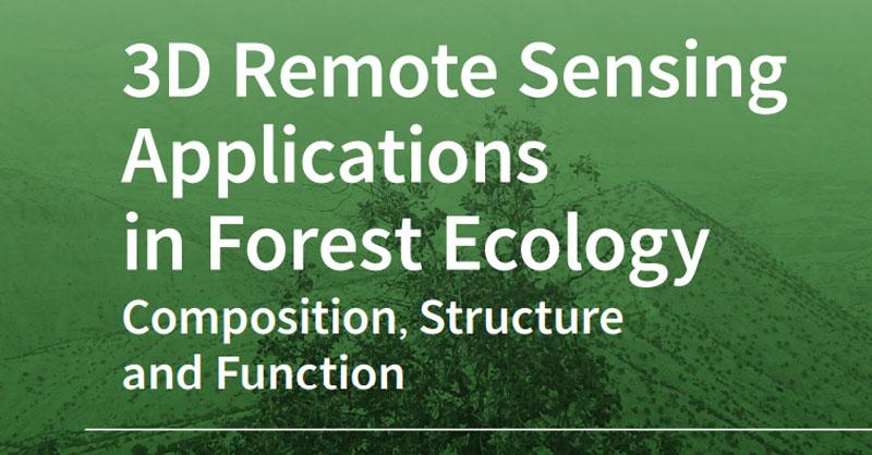 Aplicaciones de la teledetección 3D en ecología forestal