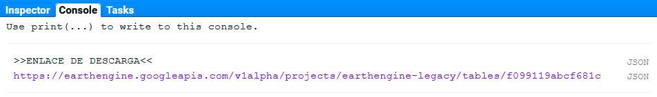 Descargar SHP en Google Earth Engine