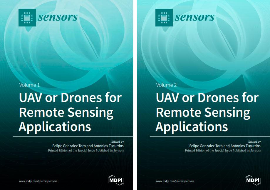 Drones para aplicaciones de detección remota