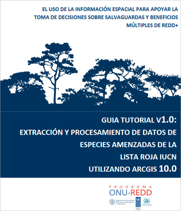 Manual de análisis de mapas de riqueza de especies en ArcGIS