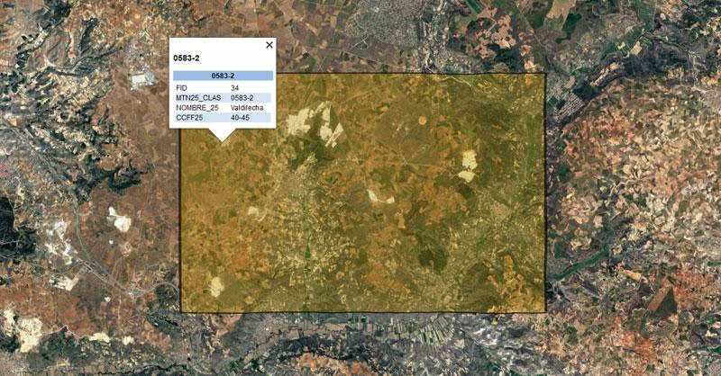 Cartografía de Zonas Restringidas al Vuelo Fotogramétrico de drones