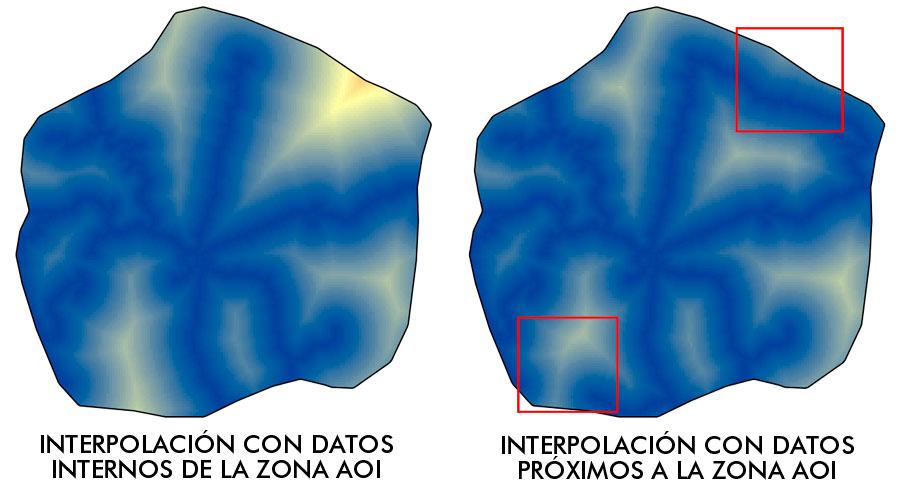 Interpolación de datos