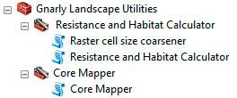 Toolbox para mapas de resistencia de especies y calidad de hábitat