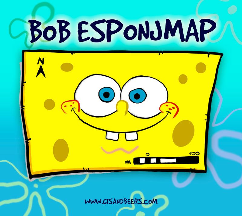 Bob Esponja mapa