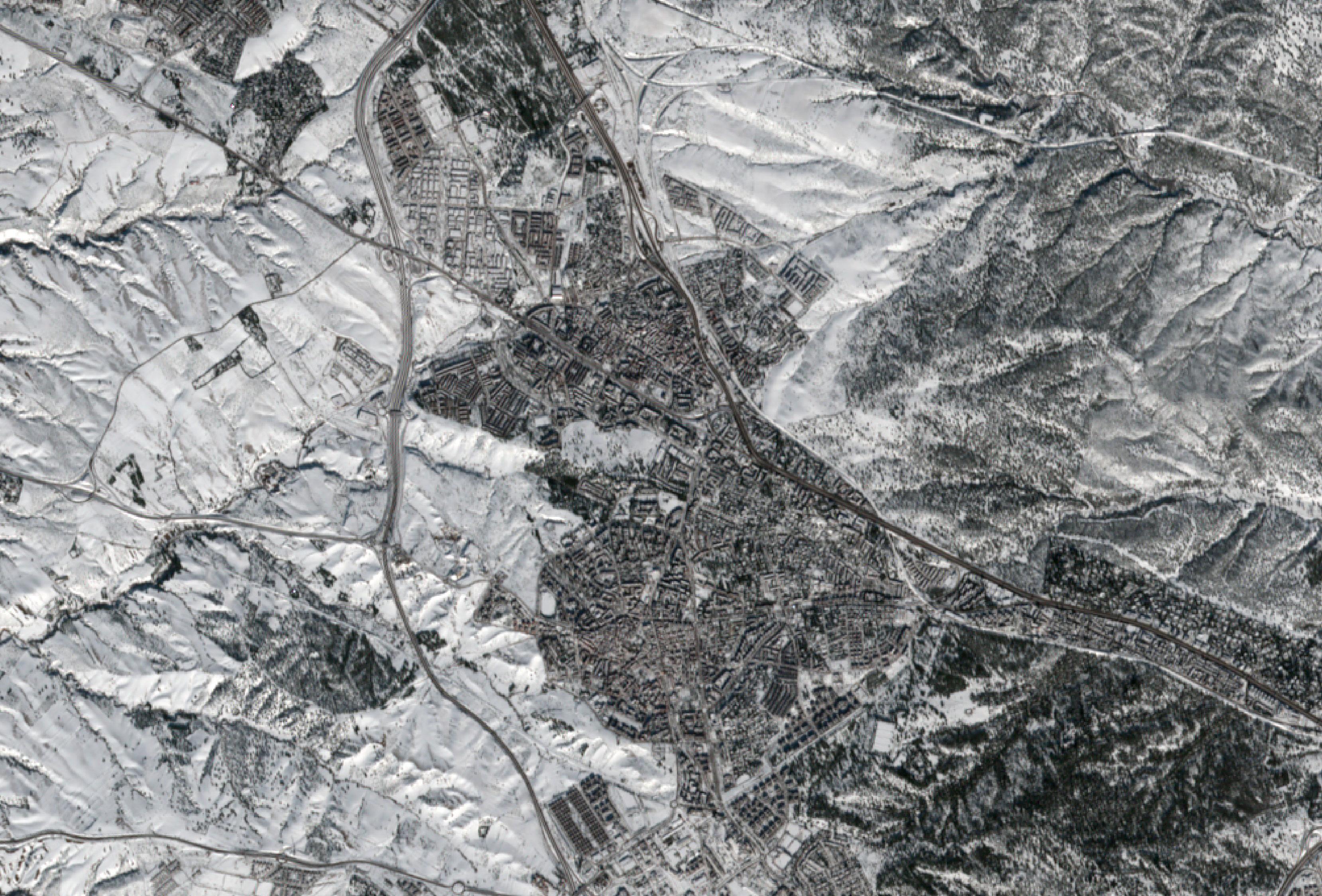 Las imágenes de Madrid nevado tras el paso de Filomena