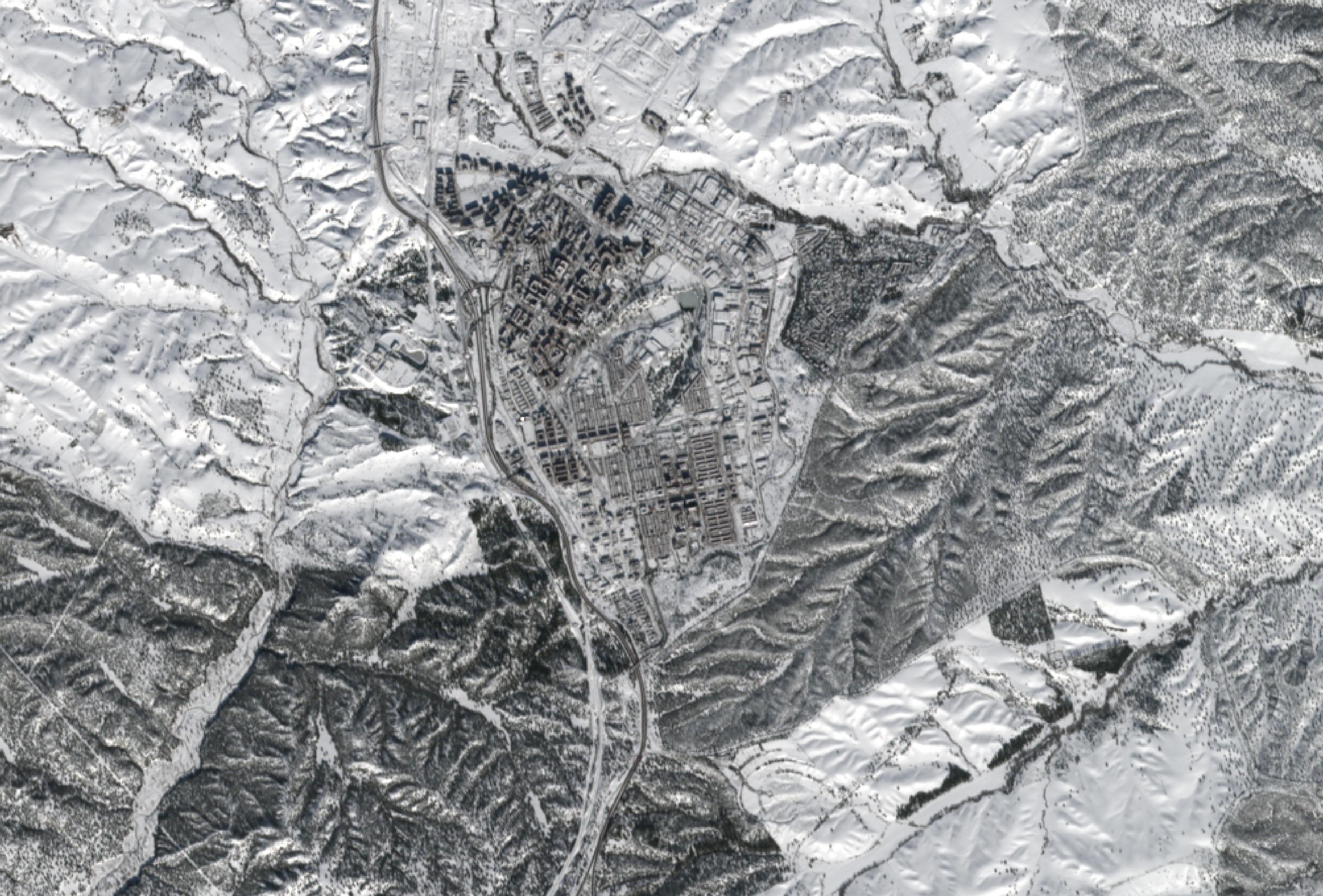 Imágenes de Nieve en Madrid