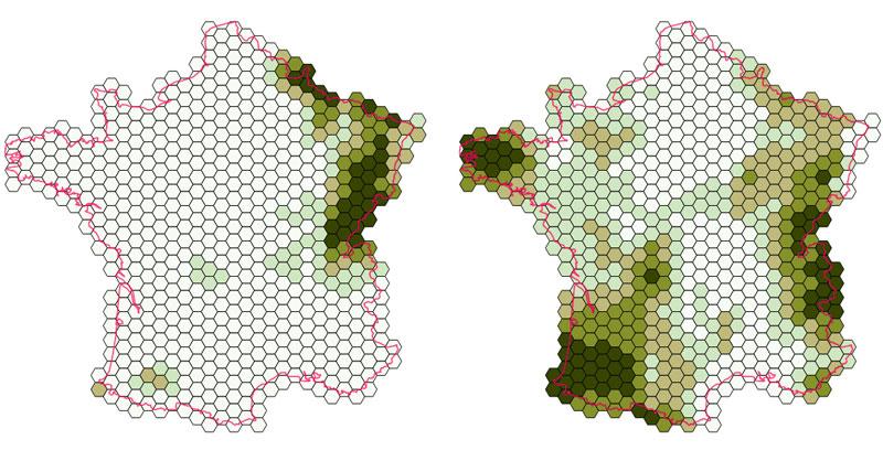 Cómo elaborar mapas de riqueza de especies en QGIS