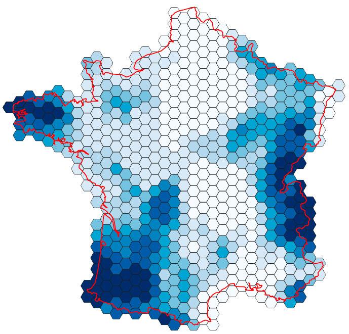 Mallas hexagonales en QGIS para elaborar mapas de especies