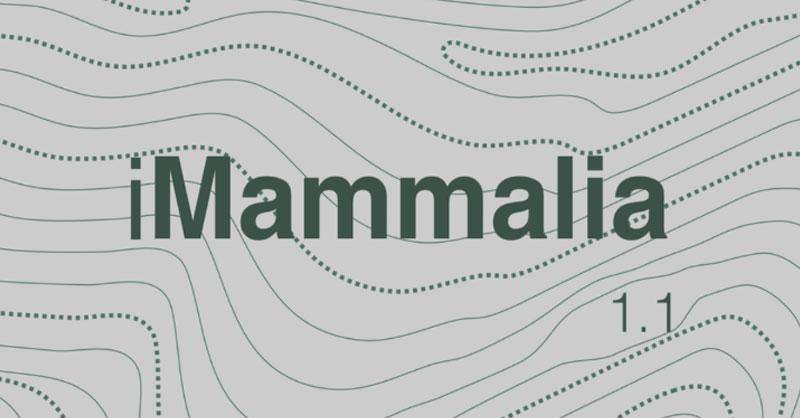 iMammalia: biodiversidad y ciencia ciudadana