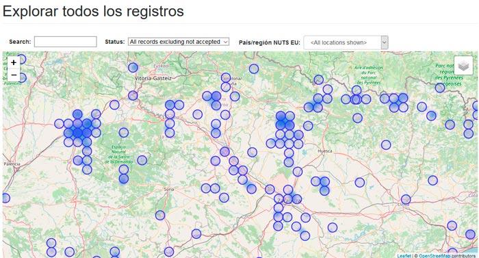Aplicacción de campo GPS iMammalia
