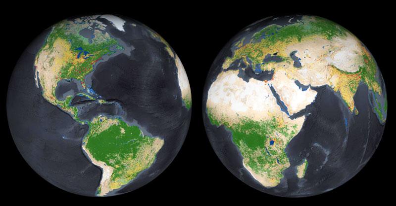 El nuevo mapa de usos del suelo LULC de ESRI