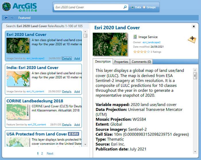 Descargar mapa de usos del suelo