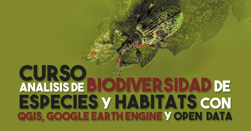 Curso de análisis de biodiversidad con QGIS y GEE