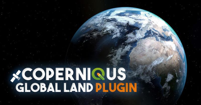 Plugin QGIS de descarga de productos Copernicus Global Land Tools