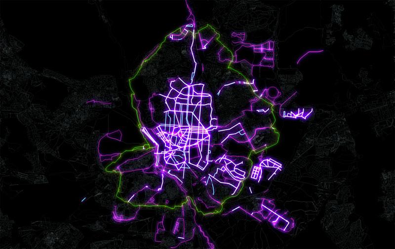 Mapas efecto neón y mapas luminosos