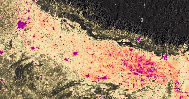 Estudios ambientales de densidad poblacional