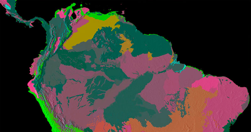 Ecorregiones del mundo en biogeografía