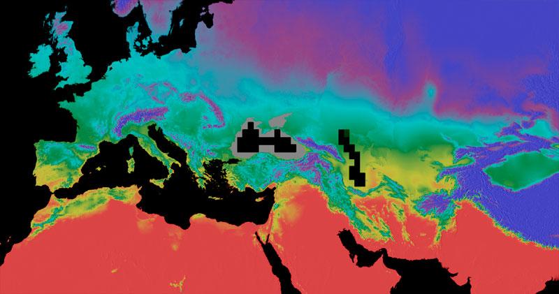 Decargar cartografía climática