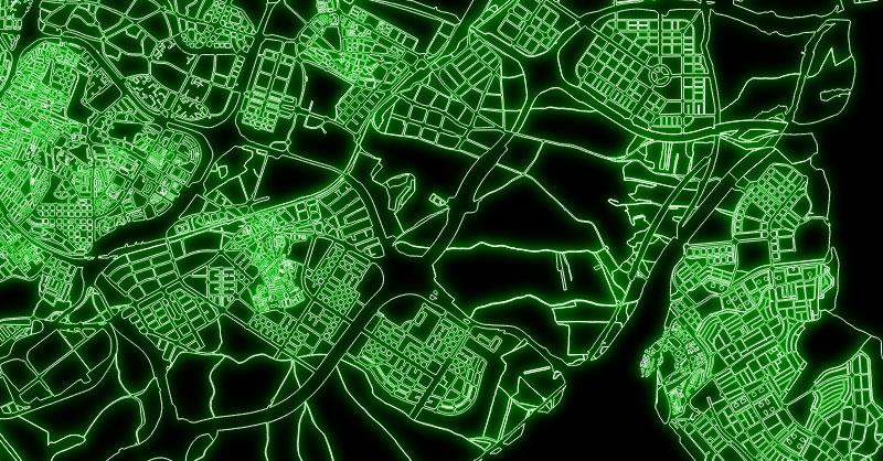Cómo elaborar mapas luminosos en QGIS mientras adelgazas haciendo deporte